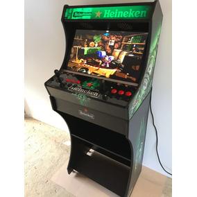 Arcade Bartop Fliperama Multijogos 9 Mil Jogos Monitor 24