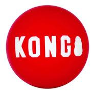 Kong Signature Ball Small Pequeno Brinquedo Bola Apito Cães