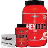 Definição 100% Whey Moran Therma Pro Porta Caps Integral