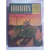Revista Hobby 109 Ago 1945 Carpinteria Asientos De Jardin