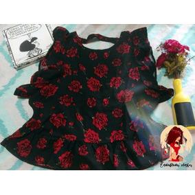 Blusa Lisa (rosa) O Estampada (negra)