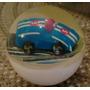 Pelotita Saltarina Goma Con Auto Transp.unica Retro Rdf1
