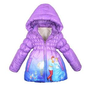 Jaqueta Infantil Casaco Blusa De Frio Sobretudo Princesas