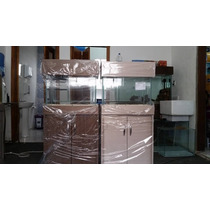 Aquario Com Movel 50x25x35 44 Litros Com Sump