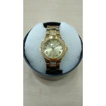 Relógio Original Atlantis Feminino Luxo Modelo Guess