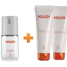 Natura Kaiak Feminino Hidratante Shampoo Desodorante Corpo