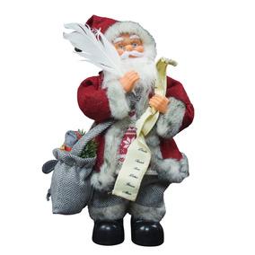 Santa Con Pluma 33cm (musical) Navidad - Ck615-gb053