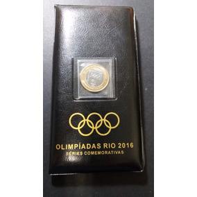 Álbum Rio 2016 Completo - 17 Moedas Originais - Com Bandeira