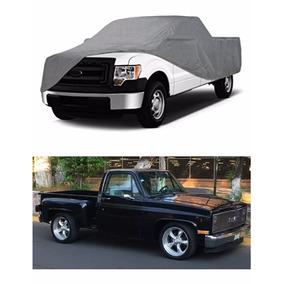 Funda Protectora 100% Impermeable Para Chevrolet Pick-up