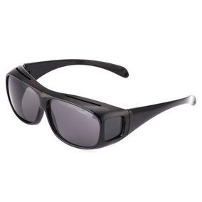 Hombres Hd Night Vision Gafas Anti Reflejos Sunglass Brumosa