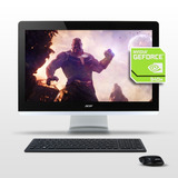 Pc All In One Acer Quad Core I5 8gb Nvidia 940m 2gb Diseño