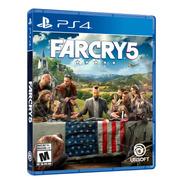 Far Cry 5 Formato Físico Ps4 Original