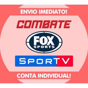 Combate Play + Fox Sports + Sportv Play - 365 Dias