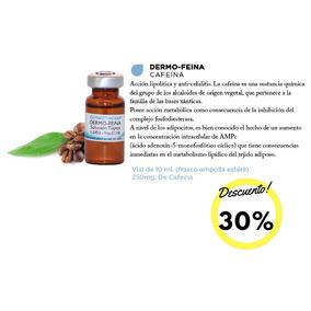Dermo-feina Caja Con 10 Viales De Cafeína Para Mesoterapia