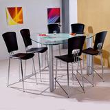 Mesa Com 6 Cadeiras Triangular Importada