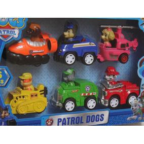 Patrulla Canina Paw Patrol Caja De 6 Carritos A Friccion