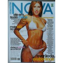 Revista Nova Outubro De 99 Capa Ana Luiza Castro