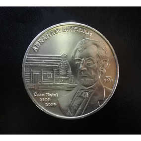 Colección Monedas Cubanas Por La Paz Lincoln Francia