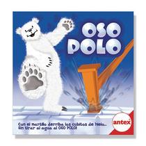Oso Polo Original Antex Con Martillo Y Bloques De Hielo