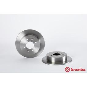Discos Traseros Sólidos Brembo Acura Integra Gs-r 94-01