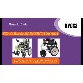 Silla De Ruedas Electrica Dly-6001 Importada