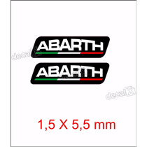 Emblema Adesivo Resinado Fiat Abarth Esseesse Coluna Rs05