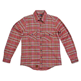 Camisa Skate Future Flanela Xadrez Farm Vermelha