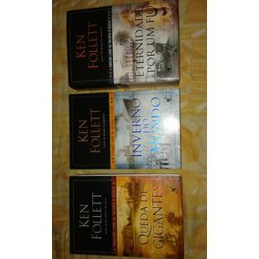 Livro. Trilogia O Século. (queda De Gigantes). Ken Follett