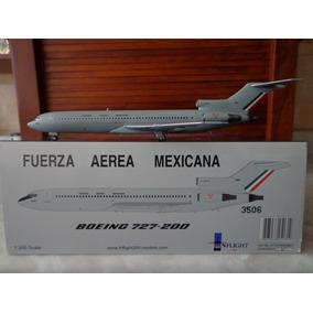 Avion Boeing 727-200 Fuerza Aérea Mexicana En Escala 1:200