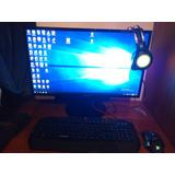 Pc Gamer Amd Ryzen 5 1400 Ghz // Rx 580 8gb Con Monitor