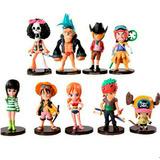One Piece 9 Figuras Envio Grats Nami Zoro Sanji Luffy Choper