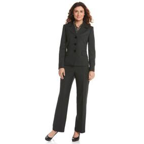 Le Suit Traje Sastre 3 Pzas Pantalón Y Saco Blazer Talla 36