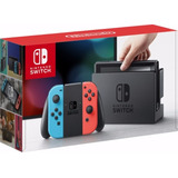Play Nintendo Switch 32gb Neon Blue Neon Red