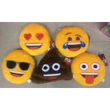 Almohadon Emojis Emoticon Unico Original 30 Cm Bordado Smile