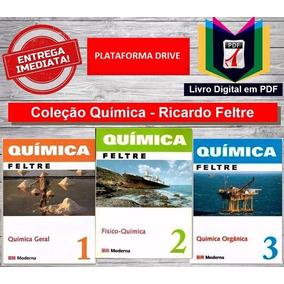 Coleção Química Ricardo Feltre Vol 1, 2 E 3 + Brinde!!!