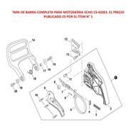Repuesto Motosierra Echo Cs-420es Tapa De Barra Completa