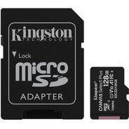 Cartão Memória Kingston Micro Sd Xc 128gb Canvas Select Plus