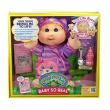 Juguete Cabbage Patch Kids 14 \baby So Real Rubio