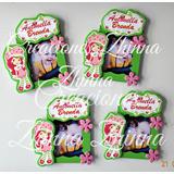 C.zhinna Frutillita Mini Porta Retrato Souvenirs, P. Sofia