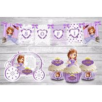 Kit Imprimible Cumpleaños Princesa Sofia