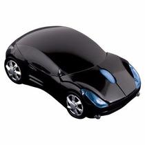 Mouse De Carrinho Carro Sem Fio Wireles Optico Usb 3 Botões