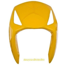 Carenagem Frontal Honda Biz 125 Es Ks 2008 2009 Amarelo