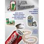 Alcancía Lata Seguridad Refresco Coca Cola, Pepsi, Corona