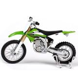Moto Miniatura Kx 250f Kawasaki 1:18 Coleçao Maisto Leilao *