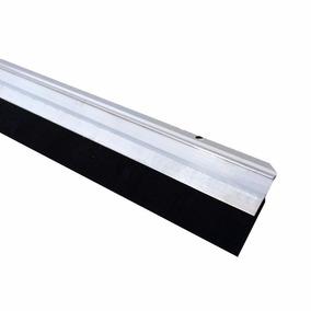 Veda Porta Friso Rodo Aluminio 100cm Ou 1 Metro