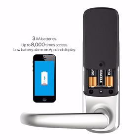 Cerradura Electronica Bluetooth Display Touch Huella Digital
