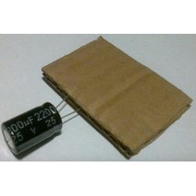 Capacitor Condensador Tarjeta Madre Pc Modem 2200uf 25v 105º