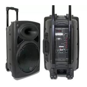 Caixa Amplificada De Som 3000w Grave 12 Pol Bluetooth Usb Fm