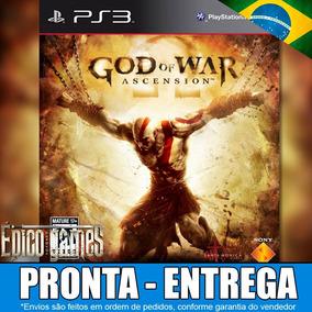 Jogo Psn God Of War Ascension Ps3 Psn Dublado Em Português