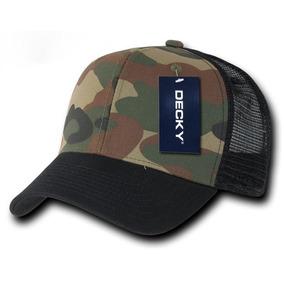 Gorra Decky Negro Camo 1054 Army Baseball Cap Original Woodl